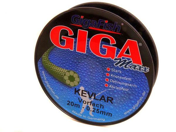 GigaMaxx Kevlar - Angelschnur Raubfisch-Vorfach