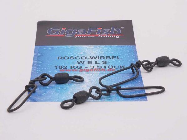 Wels Wirbel Rosco 102KG - GigaFish Angelschnur