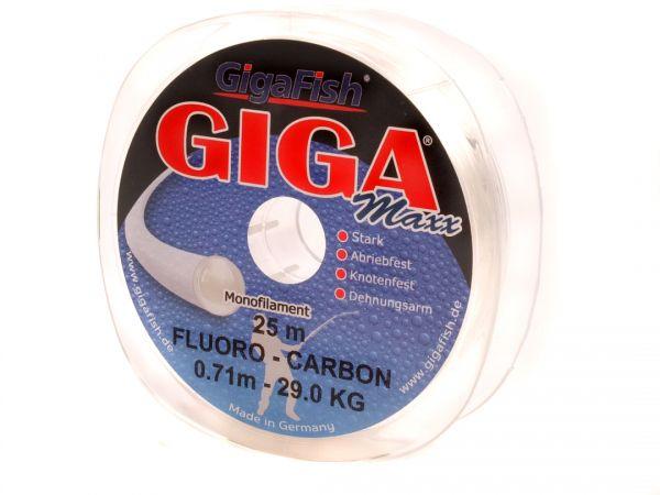 Giga Maxx Fluoro Carbon - Angelschnur
